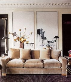 | P | Valentino's Living Room by Jacques Grange