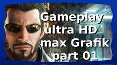 Deus Ex Mankind Divided Gameplay german | Ultra HD | 4K | part1
