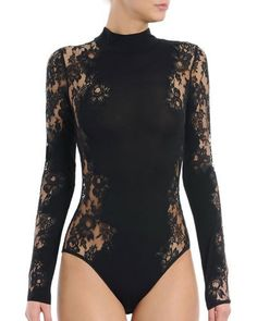 Read more The post I. Sarrieri Noir Comme La Robe Long-Sleeve Lace Bodysuit, Black appeared first on How To Be Trendy. Lingerie Fine, Jolie Lingerie, Cute Lingerie, Lingerie Outfits, Luxury Lingerie, Lingerie Dress, Lace Bodysuit Long Sleeve, Bodysuit Dress, Black Bodysuit