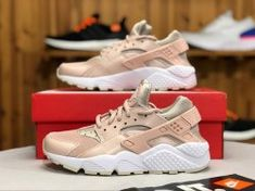 bda1d54afda95 Cheap Nike Air Max Shoes Online. Nike Air Huarache Run Women s Shoes Particle  Beige Desert Sand 634835-202 ...