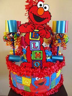 Elmo Pinata by Pinataland2001 on Etsy