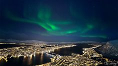 """The Northern Ligts City"" - Arctic Light Photo - Ole Salomonsen Photography http://www.arcticlightphoto.no"