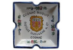 Cognac  Bisquit  Ashtray