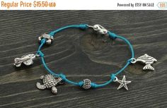 Holiday Sale 20% off Ankle Bracelet hand by ArtsyBeadsJewelry