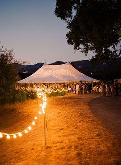 Romantic, unique and Gatsby-esque wedding tent lightings. Wedding Themes, Wedding Tips, Wedding Venues, Wedding Planning, Wedding Decorations, Wedding Blog, Wedding Songs, Wedding Reception, Field Wedding