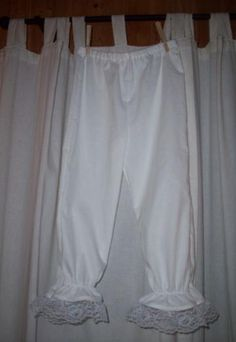 Civil War Colonial Pantaloons Bloomers Victorian by alottocollect, $25.00