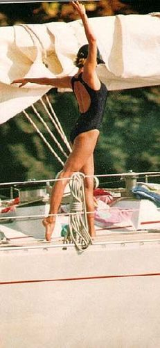 Princess Diana on Vacation