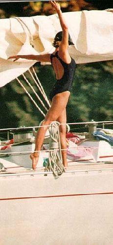 Princess Diana on Vacation