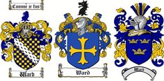 Ward Family Crest / Coat of Arms