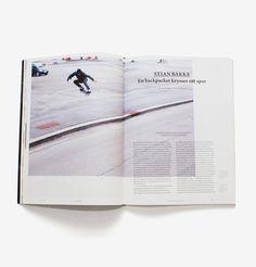 Issue Nº3 of Norwegian skateboard magazine Dank