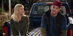 Abby (Elisha Cuthbert) and Colt (Ashton Kutcher) on Netflix original series, The Ranch