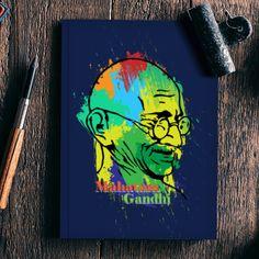 Mahatma Gandhi Notebook   Artist : Designerchennai   PosterGully