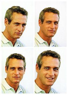Paul Newman on the set ofWinning(1969).    (Fuente:smallnartless, víalucynic83)