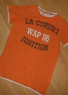 Kaufe meinen Artikel bei #Mamikreisel http://www.mamikreisel.de/kleidung-fur-jungs/kurzarmelige-t-shirts/30277525-t-shirt-gr-146-152-dognose-guter-zustand