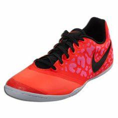 fd65c93ea972 Nike Men s Elastico Pro II Total Crimson Black Elctr Prpl Indoor Soccer  Shoe 8.5