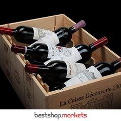 Für Kenner und Liebhaber bieten wir einzigartige Champagner, Likörweine und edelsüße Weißweine! Jetzt mit der unschlagbaren 1+1=3 Aktion!  #bestshopmarkets #bordeaux #nurfürkenner #wein #champagner #gratis Bordeaux, Wine Rack, Storage, Home Decor, Crate, Champagne, Action, Purse Storage, Decoration Home