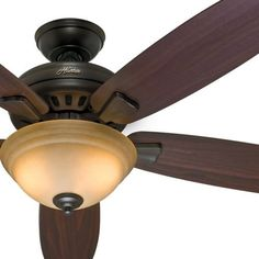 "54"" Hunter Premier Bronze Ceiling Fan - Toffee Glass Light Kit - Remote Control Ceiling Fan Remote Controls http://www.amazon.com/dp/B00XL8ZFLM/ref=cm_sw_r_pi_dp_O2lDwb1RSJAZE"