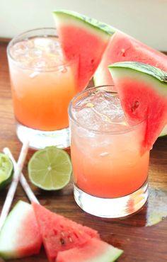 Skinny Watermelon Margaritas