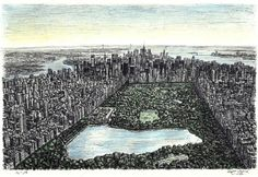 'Central Park' by Stephen Wiltshire