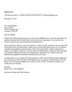 Cover Letter Sales Associate Cool Pinval V On Training  Pinterest  Sample Resume
