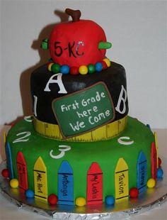 Elementary School Cake