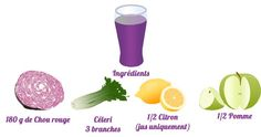 Extend your detox with this delicious red cabbage juice that you can . - Extend your detox with this delicious red cabbage juice that you can easily prepare with your juice - Juice Cleanse Recipes, Detox Diet Drinks, Natural Detox Drinks, Detox Recipes, Detox Foods, Detox Tips, Diet Detox, Kidney Detox Cleanse, Detox Juice Cleanse