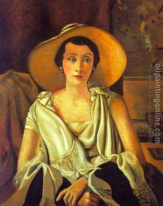 Portrait of Madame Guillaume - Andre Derain