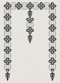 1 million+ Stunning Free Images to Use Anywhere Filet Crochet, Crochet Diagram, Crochet Patterns, Cross Stitch Boards, Cross Stitch Love, Arabesque Pattern, Palestinian Embroidery, Free To Use Images, Black White Pattern