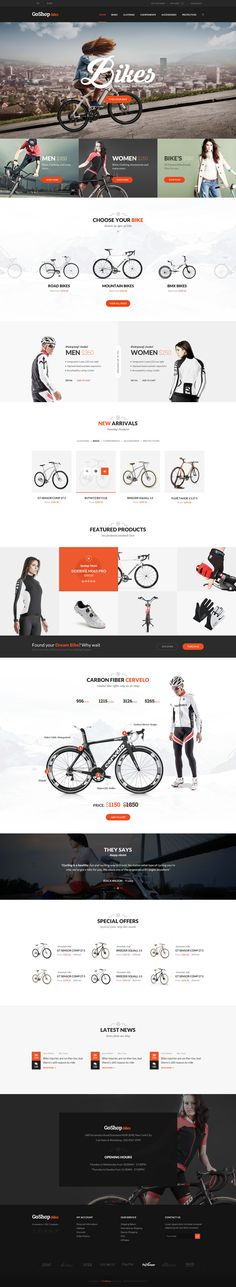 Go Shop Ecommerce PSD Template on Behance