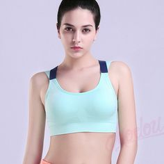 1053dd93fd093 ... High Impact Women s Elastic Supergirl Sports Bra In Pink Shirts  Superman Women Running Underwear Padded Bra Color Rush Tank Tops. See More.  Comercio al ...