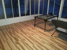 Installing a vinyl floor like Magnolia Springs Hickory is easy for pros & DIY-ers alike! Its click-together installation involves simply snapping the planks together – no messy glue or nails required!