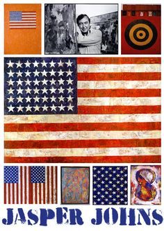 Jasper Johns, one of my faves!  <3