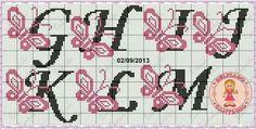 alfabeto farfalle