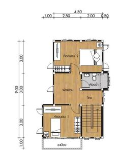 Small Home design Plans with 2 Bedrooms - House Plan Map 4x8 Shed, 2 Bedroom House Plans, Under Stairs, Small House Design, Home Design Plans, Shed Plans, How To Level Ground, Family Room, Floor Plans