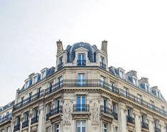 Saint-Germain-des-Pres, Paris Photography, Parisian Art , City Streets, Home Accent, French Decor, Blue & Whites, Prints