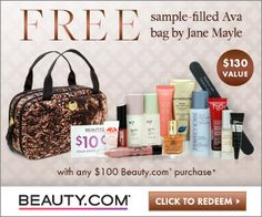 Beauty.com Free Gift Offer Deal - Fashion and Beauty Sales to Shop this Weekend!   StorybookApothecary.com #beauty #skincare #natural