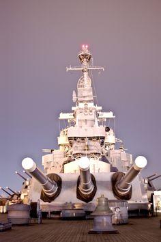 Stern of the Battleship NORTH CAROLINA