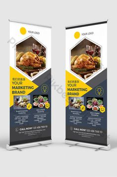 Restaurant Hotel Menu Promotional Promotion Display PSD#pikbest#templates Standing Banner Design, Hotel Menu, Promotion Display, Wedding Planning Book, Fresh Girls, Mid Autumn Festival, Layout Design, Restaurant, Templates