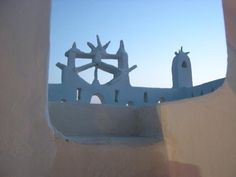 Mykonos: Dazzlingly white and windswept, with superb sandy beaches, blue-domed churches, & windmills. Mykonos Island, Windmills, Sandy Beaches, Greece Travel, To Go, Portrait, Luxury, Blue, Wind Mills