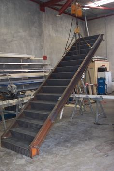 External Steel staircase