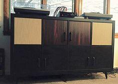 Ikea Kallax Hack - Mid Century Modern HiFi Console   Audiokarma ...
