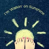 Walkin' on sunshine describes the honeymoon phase of abuse for me...more energy, more love, more joy. Until it stopped. Abruptly. With his displeasure.