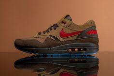 CLOT x Nike Air Max 1「K.O.D. - Cha」全新聯名鞋款正式登場 | HYPEBEAST Air Max 1, Nike Air Max, Air Max Sneakers, Sneakers Nike, Kiss Of Death, Hypebeast, Footwear, Shoes, Bing Images