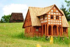 dom podcieniowy - Olandia - skansen miniatur