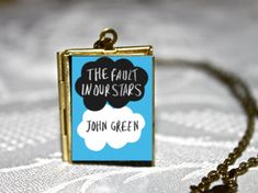 The Fault In Our Stars Book Locket by childhoodpendants on Etsy, $22.50