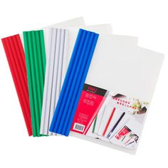 10pcs/lot Deli A4 document Folder Office Supplies stationery School supplies Folder PP Storage Documents Paper report Clip
