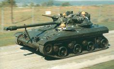 T92 Light Tank during speed trials
