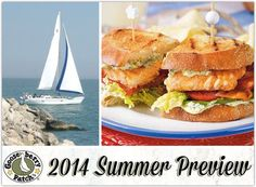 2014 Summer Preview from Gooseberry Patch.  Lots of summer fun and recipes!  The boys will love the grilled salmon BLTs. Love you!