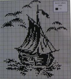 Филейное вязание крючком. Схемы.