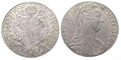 1780 Haus Habsburg AUSTRIA Thaler 1780 Milan (1815-1828) MARIA THERESA silver XF-UNC!!! # 52430 UNC